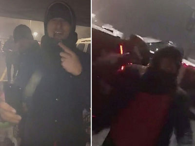 Johnny Manziel Is Playing Football In An NFL Staduim Parking Lot (VIDEO)