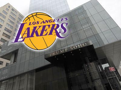 L.A. Lakers Dumping Trump Hotel Amid 'Security Concerns'