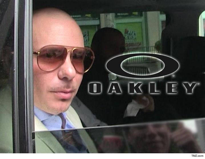 9eb4c1c68933 Pitbull Sues Oakley for Shady Sunglasses Deal