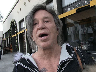 Mickey Rourke Wants Violent Justice for Joe Mixon (VIDEO)