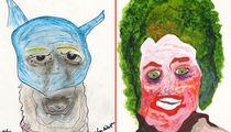 Adam West's Batman Art Could Fetch $70k (PHOTO GALLERY)