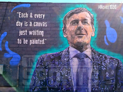 Craig Sager Immortalized By L.A. Street Artist ... Next To Stuart Scott (PHOTOS)