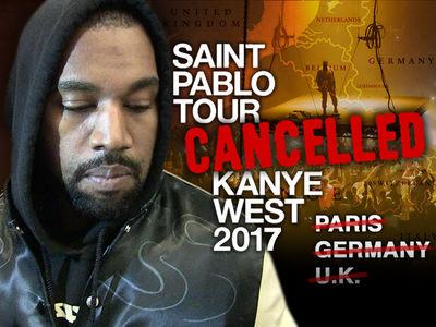 Kanye West's European Tour Cancelled (UPDATE)