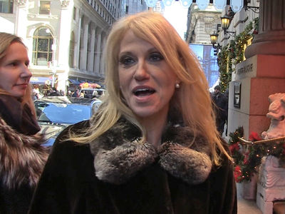 Kellyanne Conway's Moving Her Fam to D.C. If She Can Sell 'Em On It (VIDEO)