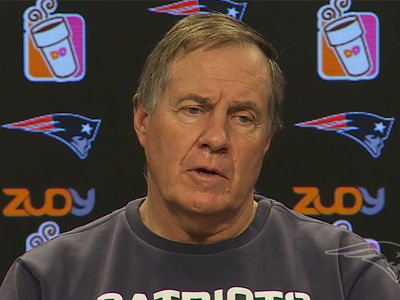 Bill Belichick Says Patriots Unfazed By Michael Floyd DUI Video