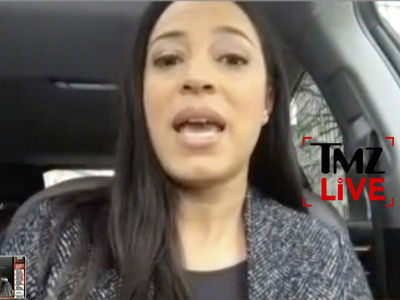 CNN Commentator Angela Rye Blasts TSA Agent for Touching 'My Labia' (TMZ LIVE)