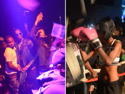 Young Thug & 21 Savage Make it Rain in Atlanta Club (VIDEO + PHOTO GALLERY)