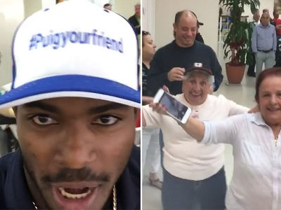 Yasiel Puig Is Gettin' Geriatric Wit It At Octogenarian Dance Party In Florida (VIDEO)