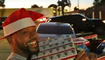 Columbus Short Plays Santa for Abused Women (VIDEO)