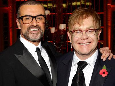 Elton John 'In Deep Shock' Over George Michael's Death