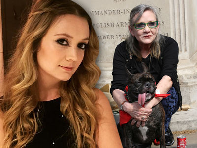 Carrie Fisher's Daughter to Get Beloved Dog Gary