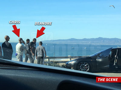 DeAndre Jordan In Car Accident, Person Hospitalized (PHOTO GALLERY)