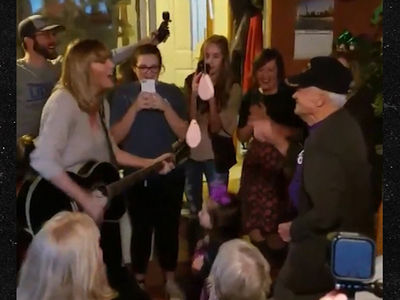 Taylor Swift Surprises WWII Vet with 'Shake it Off' (VIDEO)