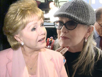 Debbie Reynolds' Last Words Were 'I Want to Be with Carrie'