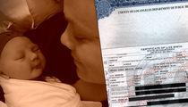 Pink, Carey Hart Choose Boozy Baby Name (DOCUMENT)