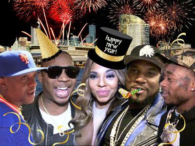 Ja Rule, Young Jeezy & Ashanti Cashing Huge New Year's Checks