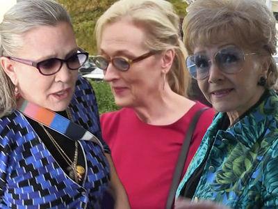 Carrie Fisher/Debbie Reynolds Public Memorial to Feature Meryl Streep