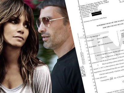 Halle Berry Races for Divorce Because of Pending Deals (DOCUMENT)