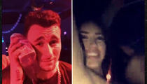 Johnny Manziel Brings Back 'Money Phone' During Strip Club Visit (VIDEO)