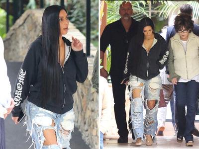 Kim Kardashian's Back in Power Lunch Mode (PHOTOS)