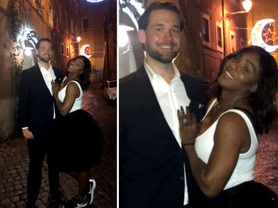 Serena Williams Reveals Massive Engagement Ring