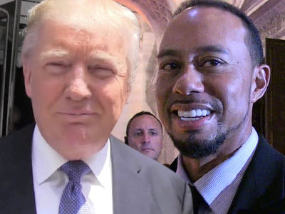 Tiger Woods Says Donald Trump CRUSHED IT at Golf
