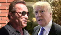 Arnold Schwarzenegger Tells Trumps To Focus on U.S., Not TV Ratings