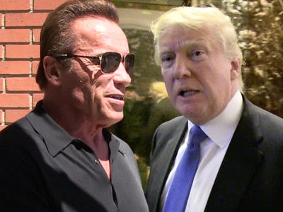 Arnold Schwarzenegger Tells Trumps To Focus on U.S., Not TV Ratings