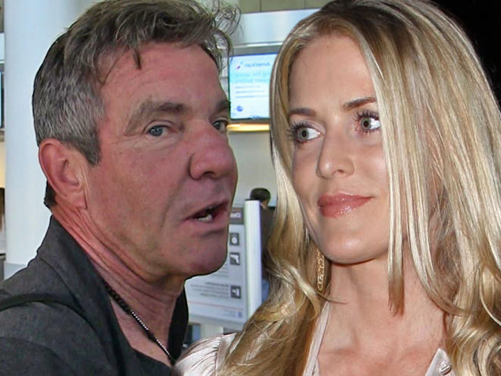 Dennis And Kimberly Quaid Roll The Dice In Divorce Tmz Com