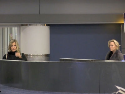 Megyn Kelly & Lara Spencer's Airport Run-In, Cold Front in NYC (VIDEO)