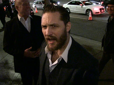 Tom Hardy Discusses Talking Dogs and Modern-Day Superheroes (VIDEO)
