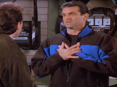Tennis Pro Milos on 'Seinfeld' 'Memba Him?!