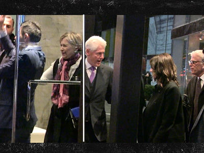 Bill & Hillary Clinton Hit the Town in NYC (VIDEO)