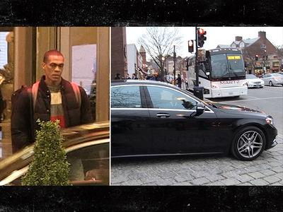 Rajon Rondo Didn't Take Team Bus to Game ... Here's Why (VIDEO)