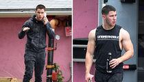 Nick Jonas As The Hulk, Not in a Movie (PHOTOS)