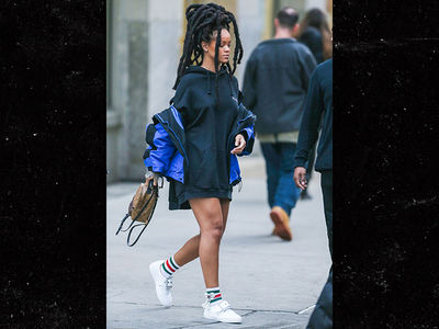 Rihanna's Lock'd Up Hair Don't Care (PHOTO)