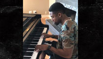 Raiders Punter Marquette King Covers Maroon 5 On Piano (VIDEO)