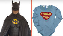 Vintage Superman and Batman Movie Costumes on Auction (PHOTO GALLERY)
