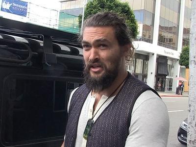 Jason Momoa Says Aquaman Has Biggest Codpiece!!! (VIDEO)