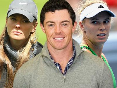 Rory McIlroy Shades Ex-GF Caroline Wozniacki ... Being With a Celebrity Sucked