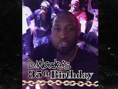 Dwyane Wade's Insane Surprise Bday Party ... Money, Stars, Chicken (VIDEO)
