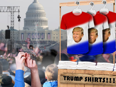 Donald Trump Inauguration, Cops to Overlook Joint Puffing, T-Shirt Slinging