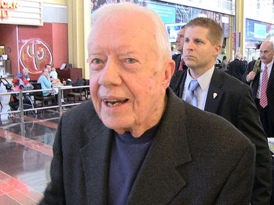 Jimmy Carter Gives Advice to Trump, Then Talks Peanut Butter (VIDEO)