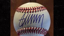 Donald Trump Autographed Baseball Prices Skyrocket (PHOTO)