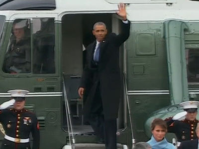 Barack Obama's Final Goodbye (VIDEO)