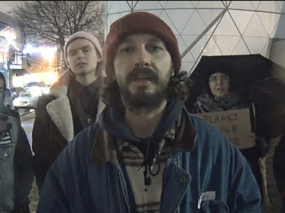 Shia LaBeouf's Message for President Trump, Repeat Ad Infinitum (VIDEO)