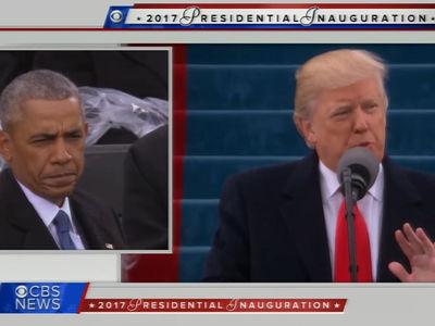 Donald Trump, Obama Watches Speech in Near Anguish (VIDEOS)