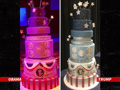 Donald Trump's Inauguration Cake Was A Copy Job