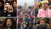 Women's March On Washington Draws Huge Crowds (PHOTOS + VIDEO)