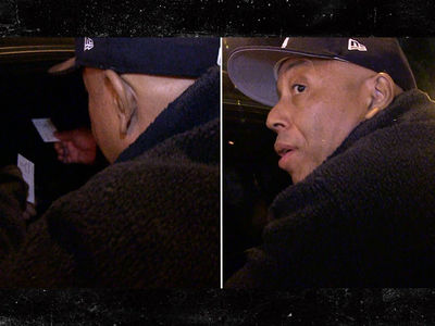 Russell Simmons Offers Limo Full of Girls Free Yoga (VIDEO)